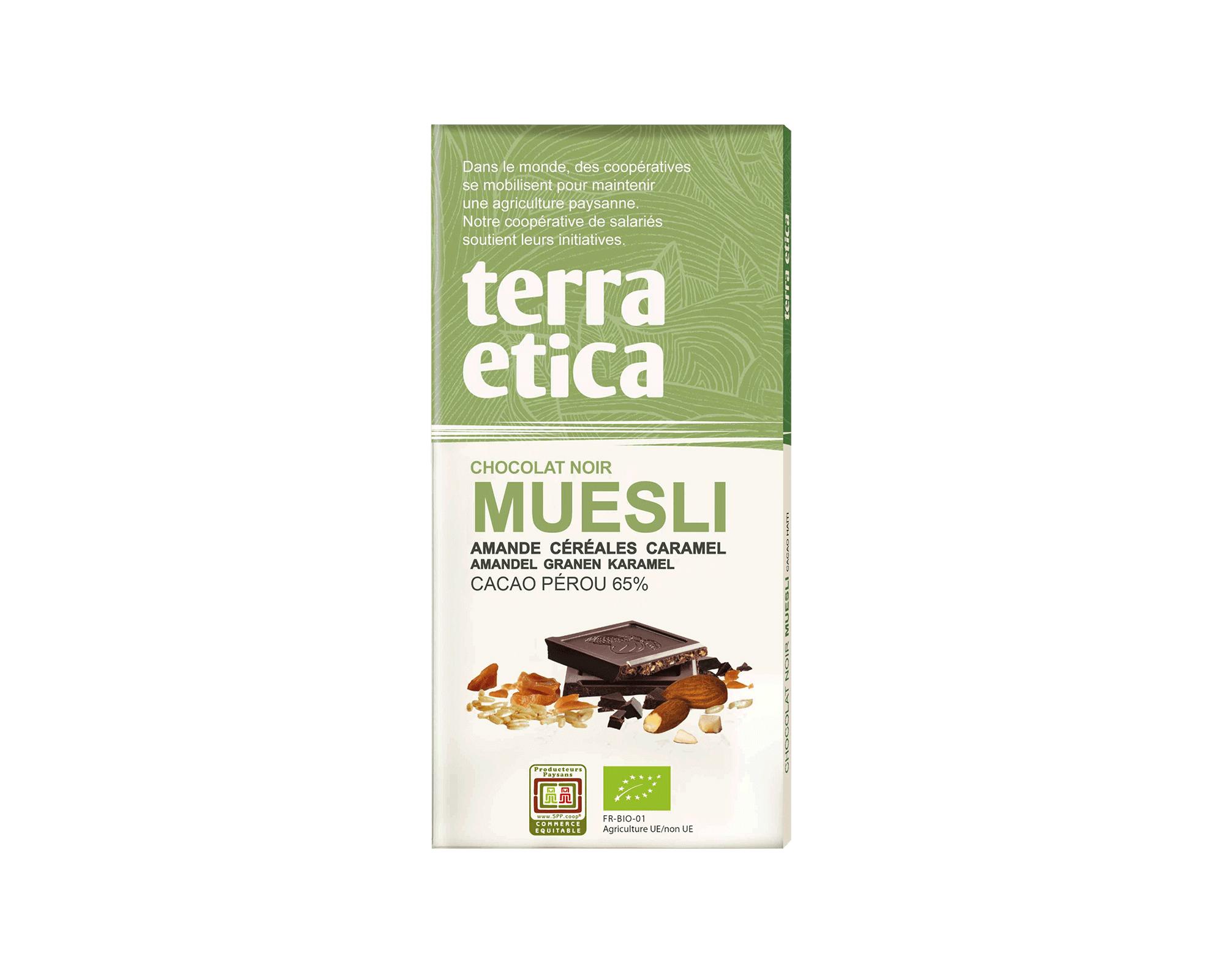 Chocolat noir Super fruit d'Amazonie bio et équitable I Terra Etica
