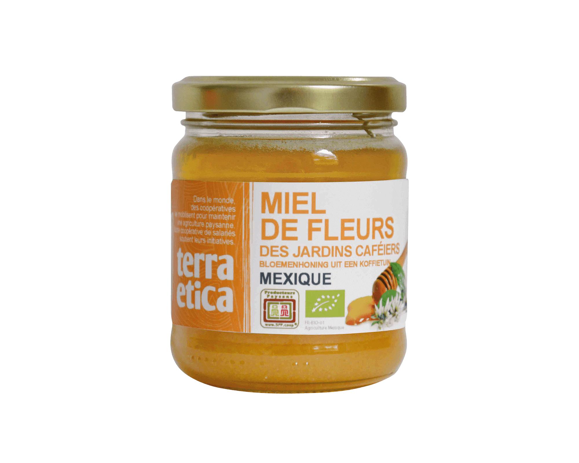Miel de fleurs des jardins caféiers bio et équitable I Terra Etica