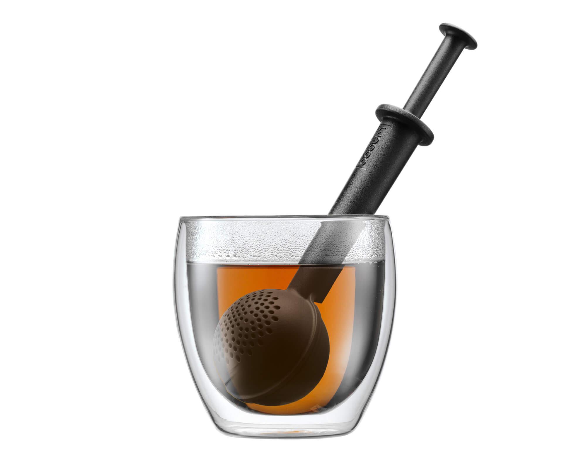 Infuseur à thé noir BISTRO de Bodum I Café Michel