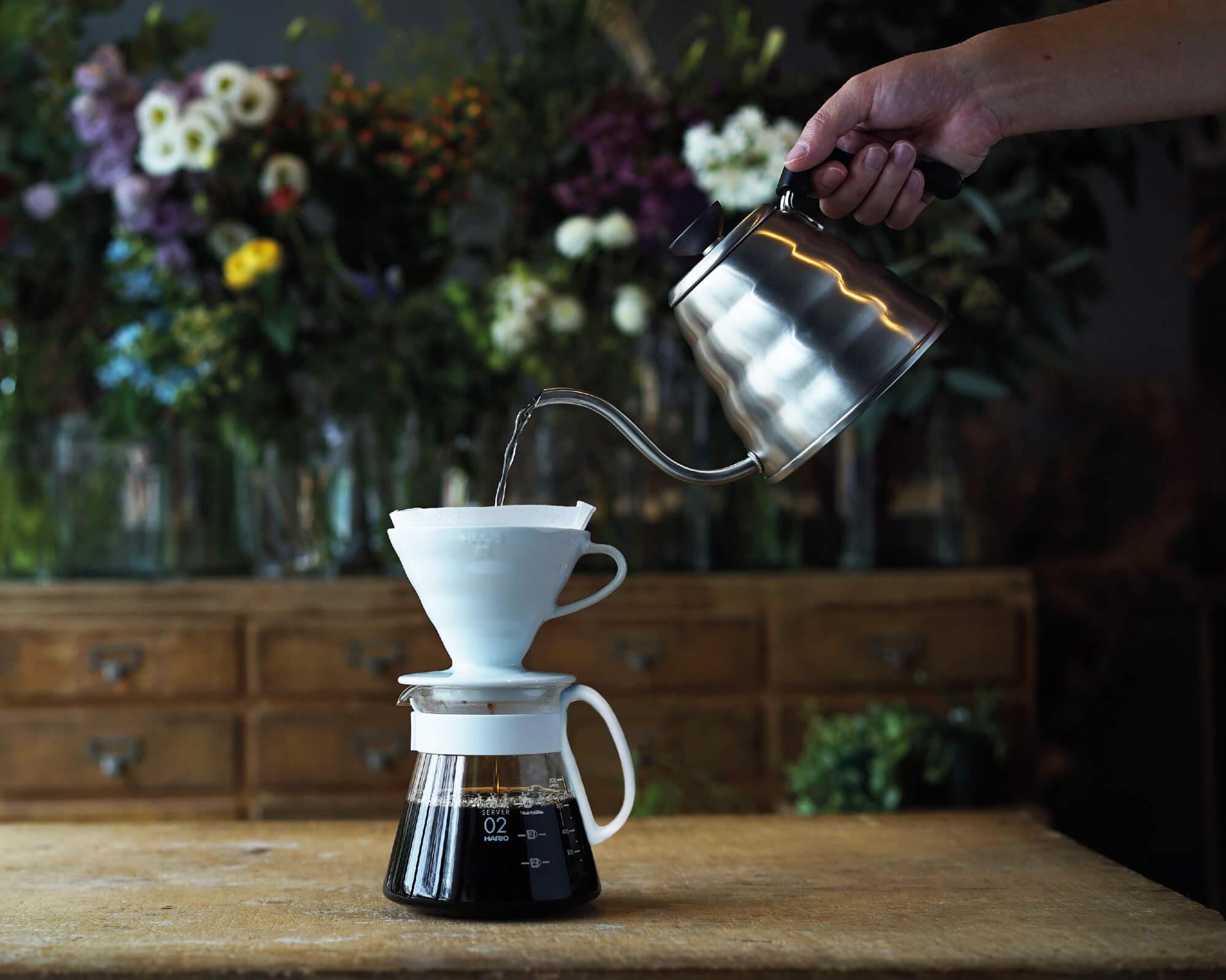 Filtres en papier naturel pour cafetière V60-02 de Hario I Café Michel