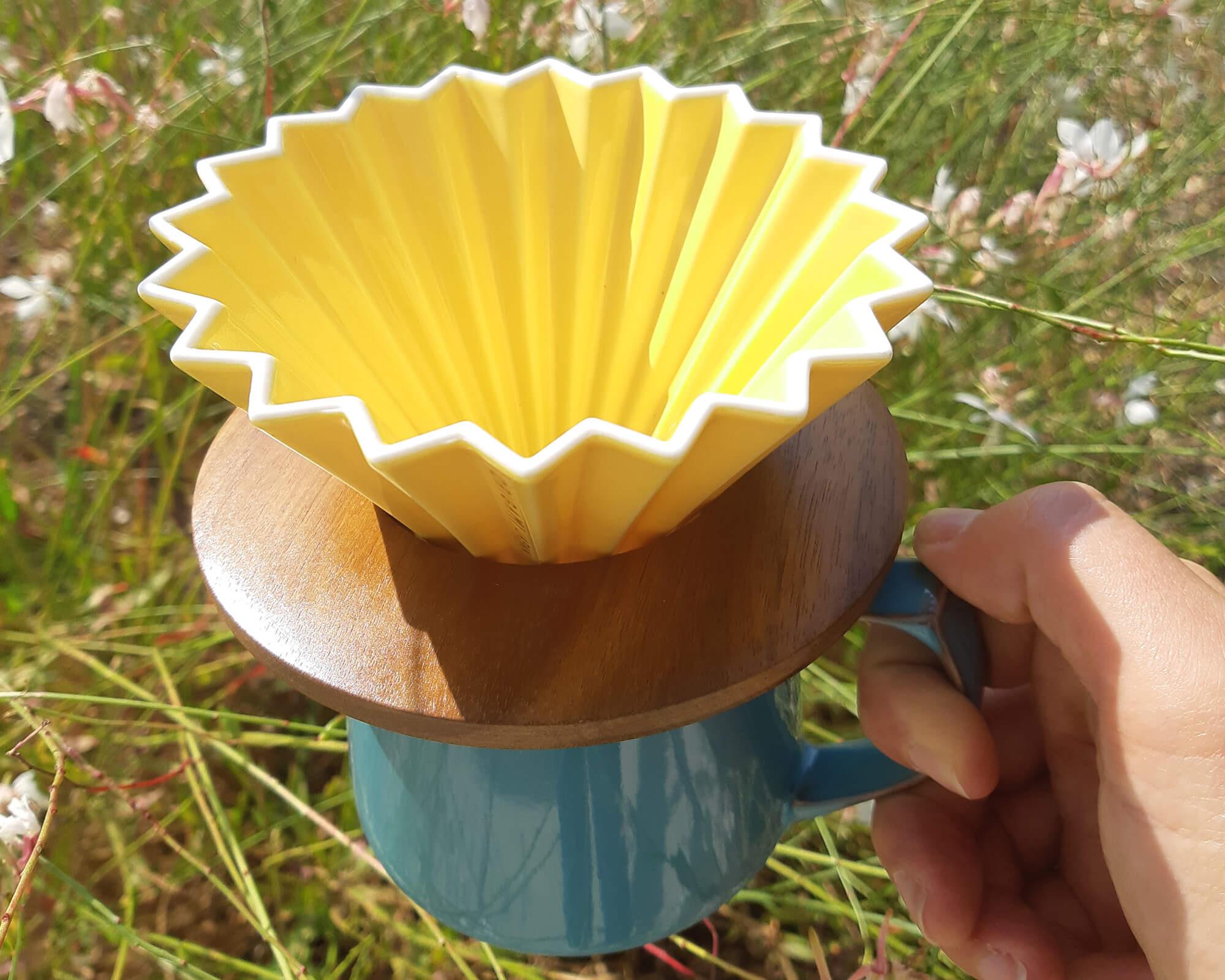 Mug Aroma en porcelaine d'Origami fait au Japon I Café Michel