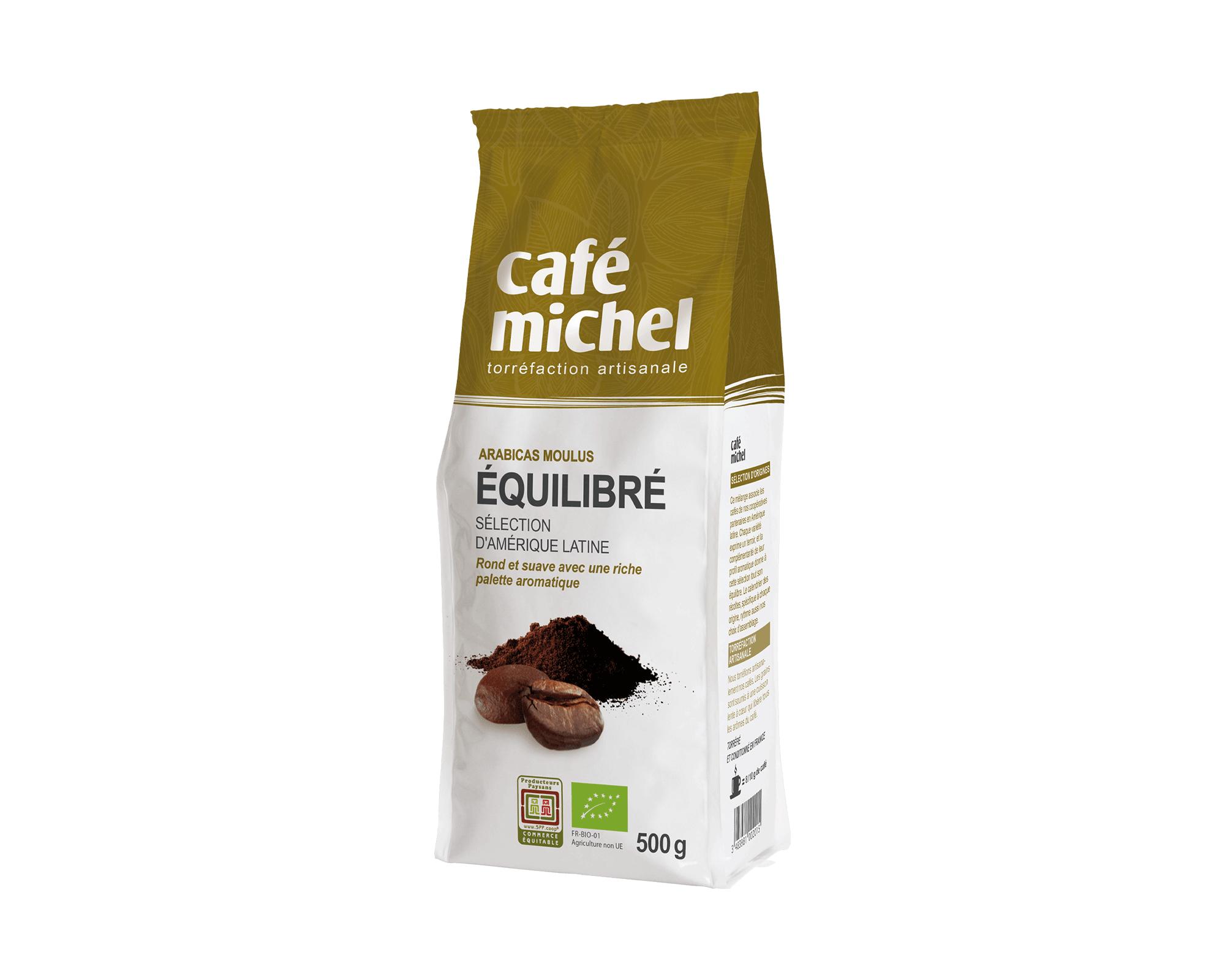 Pur arabica Pérou moulu biologique et équitable 250gr I Café Michel
