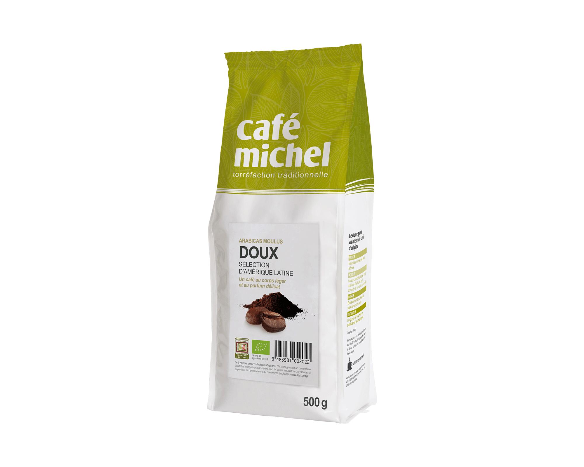 Pur arabica Équateur Moulu biologique et équitable 250gr I Café Michel