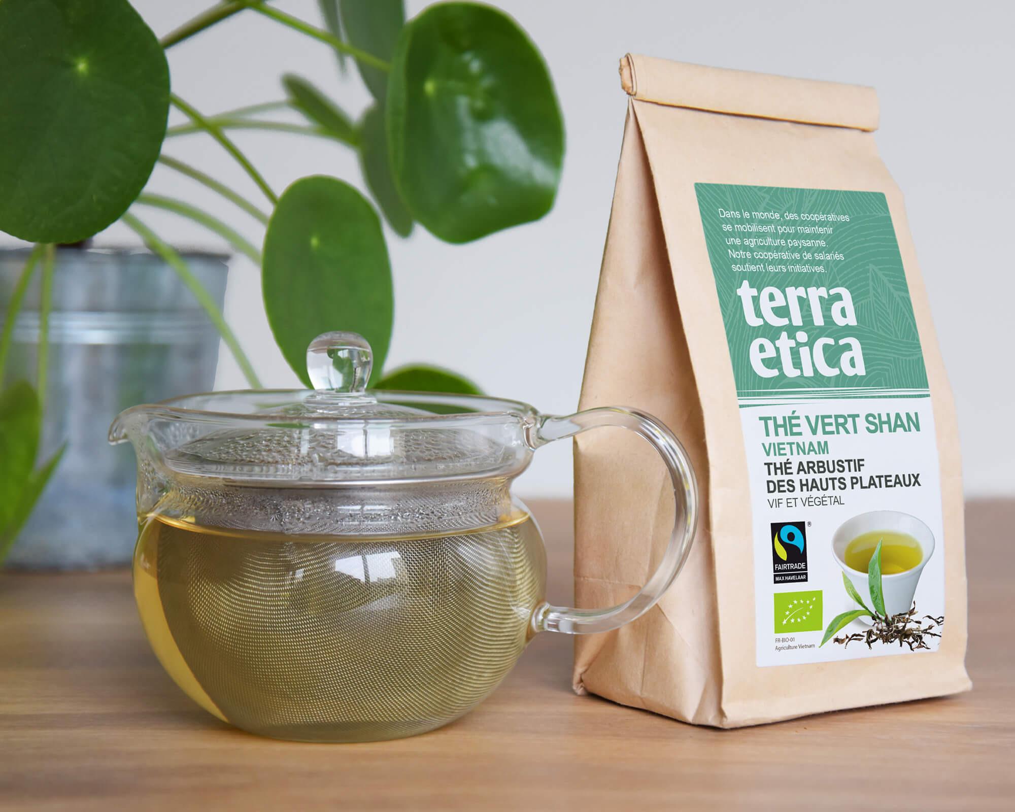 Thé Vert variété Shan (Vietnam) bio et équitable I Terra Etica