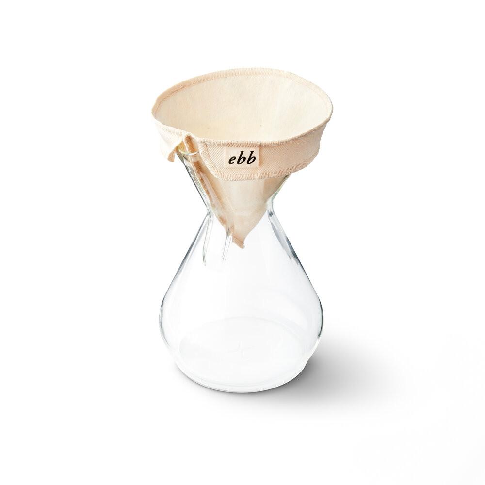 Café Michel - FIltre permanent EBB de GDS pour cafetière Chemex 6 tasses