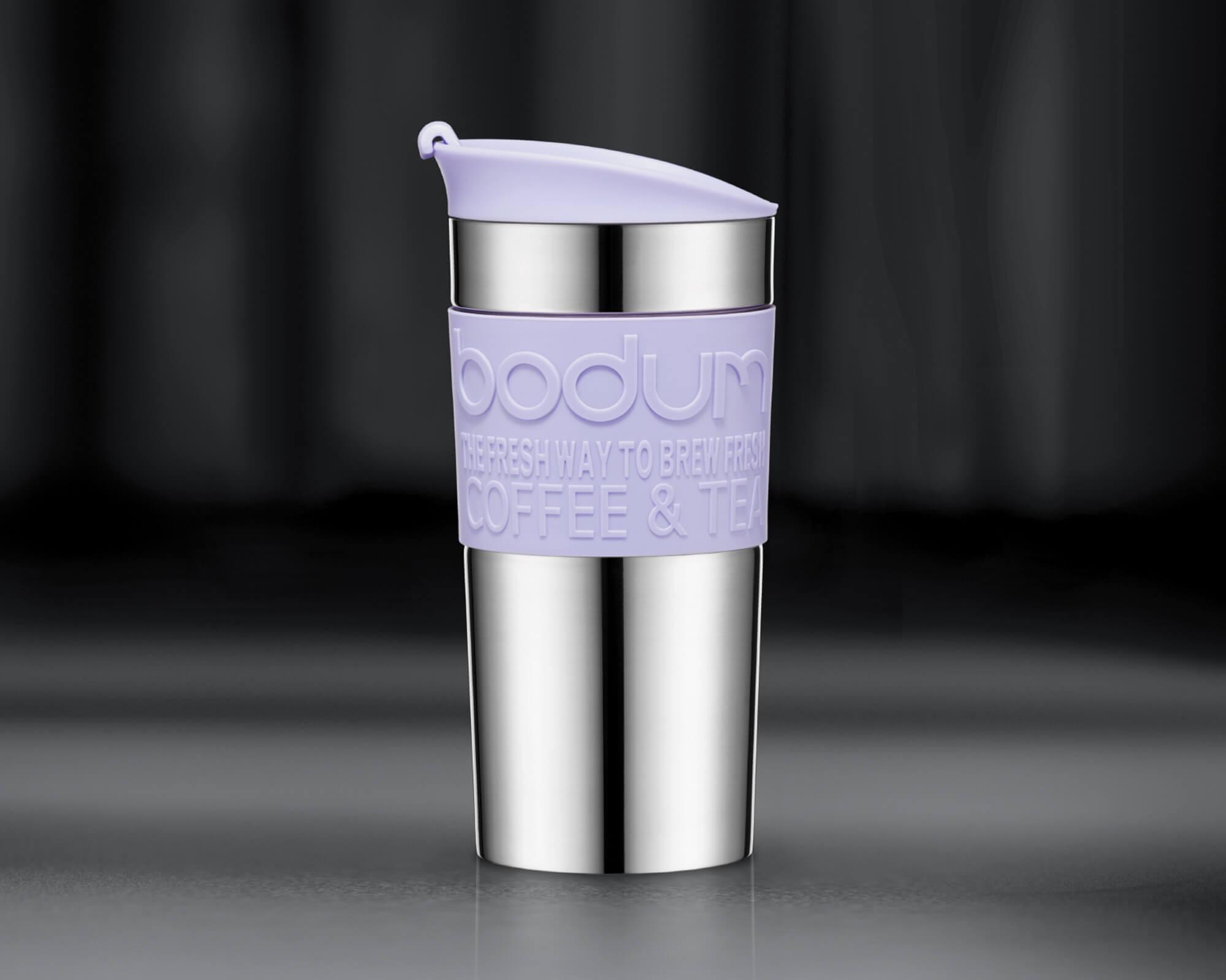Mug de voyage violet TRAVEL MUG de Bodum I Café Michel