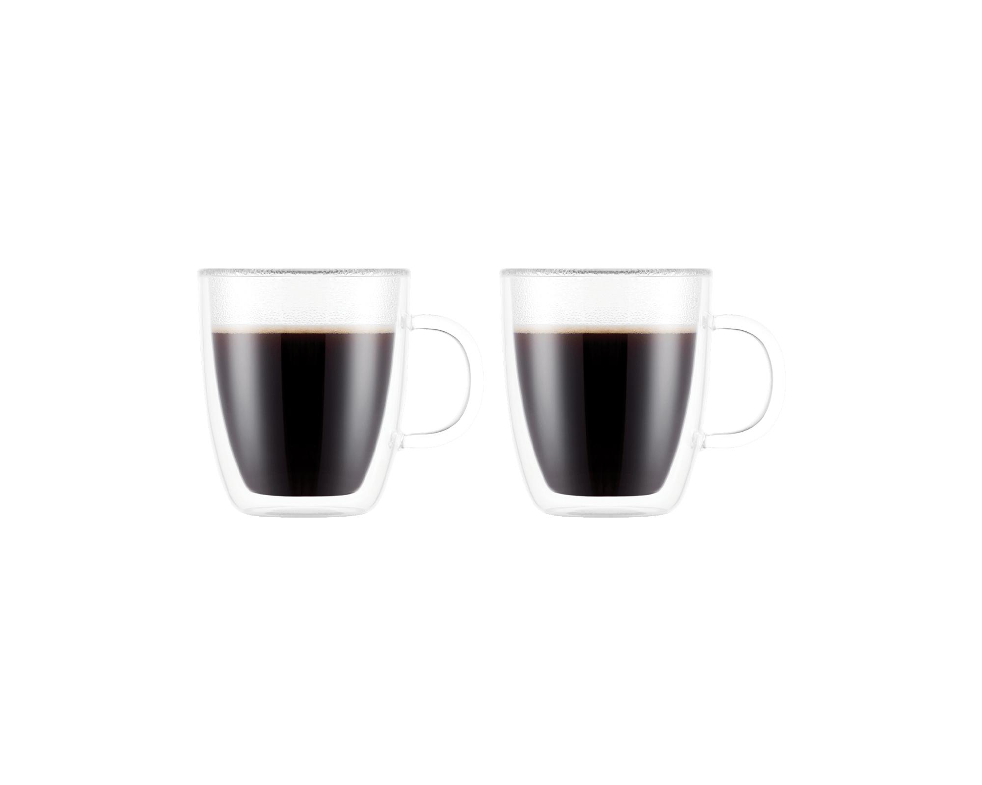 Set de 2 tasses expresso Bistro de Bodum I Café Michel