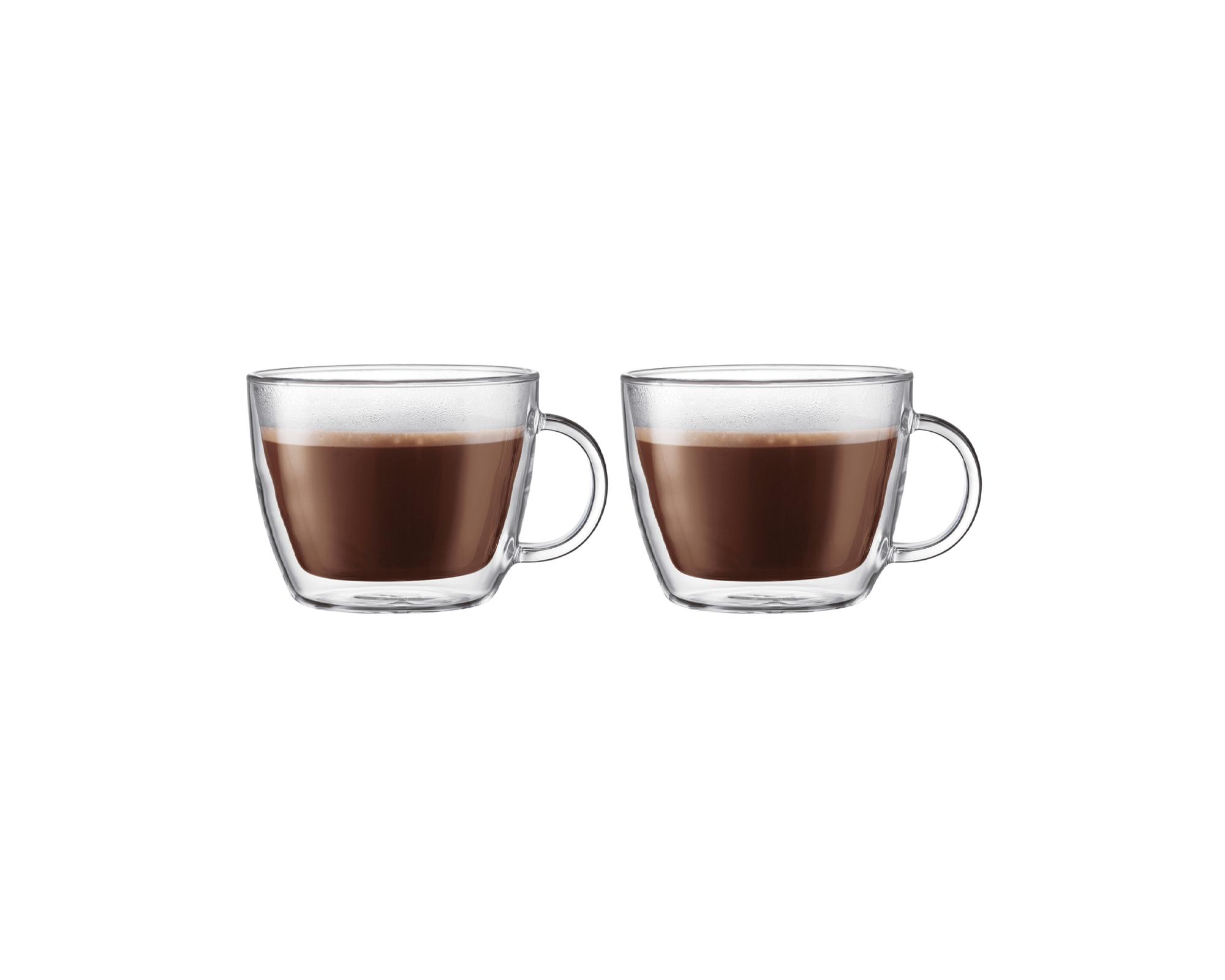 Set de 2 tasses latte Bistro de Bodum I Café Michel