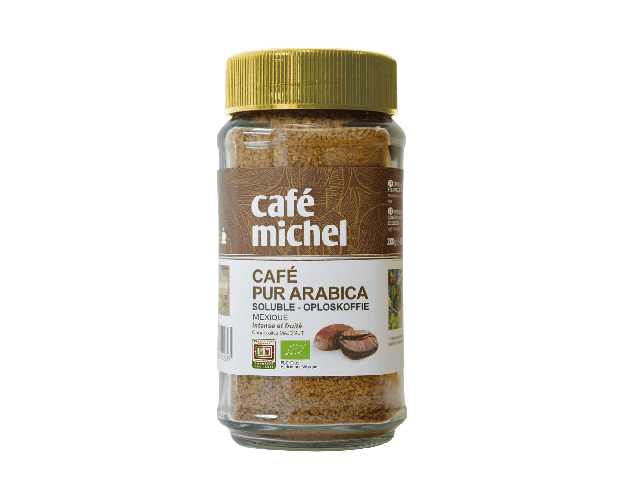 Pur arabica Éthiopie Sidamo Grains biologique et équitable 1kg - Café Michel